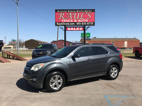 2011 Chevrolet Equinox for sale at RAUL'S TRUCK & AUTO SALES, INC in Oklahoma City OK