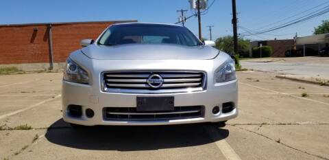 2014 Nissan Maxima for sale at Dynasty Auto in Dallas TX