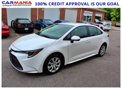 2020 Toyota Corolla for sale at CARMANIA LLC in Chesapeake VA