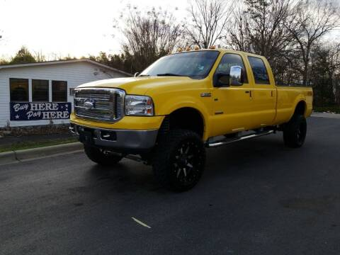 2006 Ford F-350 Super Duty for sale at TR MOTORS in Gastonia NC