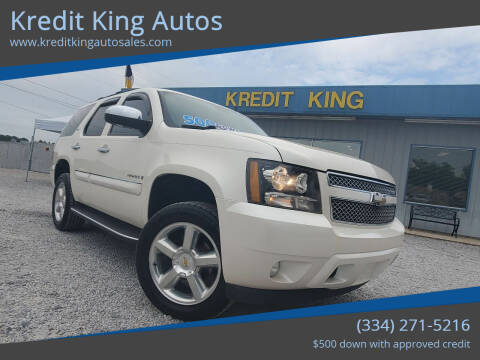 2008 Chevrolet Tahoe for sale at Kredit King Autos in Montgomery AL