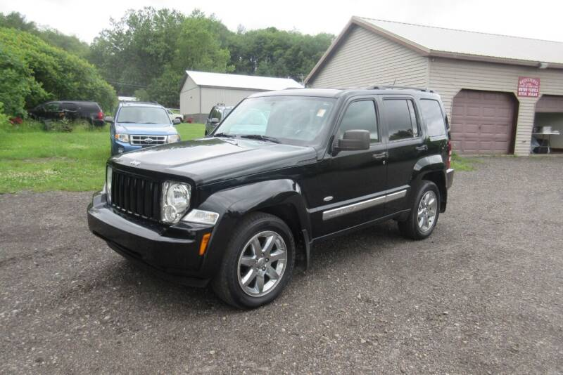 2012 Jeep Liberty for sale at Clearwater Motor Car in Jamestown NY