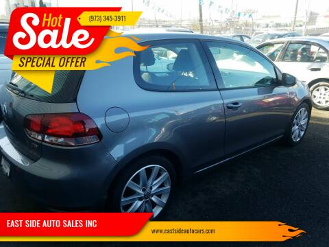 2011 Volkswagen Golf for sale at EAST SIDE AUTO SALES INC in Paterson NJ