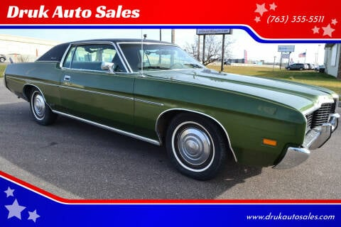 1972 Ford Galaxie 500 for sale at Druk Auto Sales in Ramsey MN