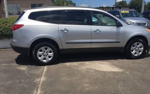 2011 Chevrolet Traverse for sale at Bobby Lafleur Auto Sales in Lake Charles LA