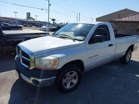 2006 Dodge Ram Pickup 1500 for sale at Bourbon County Cars in Fort Scott KS