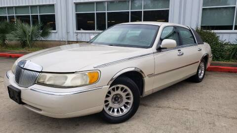 1999 Lincoln Town Car for sale at Houston Auto Preowned in Houston TX