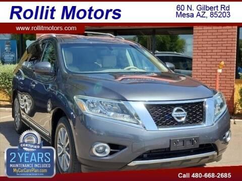 2013 Nissan Pathfinder for sale at Rollit Motors in Mesa AZ