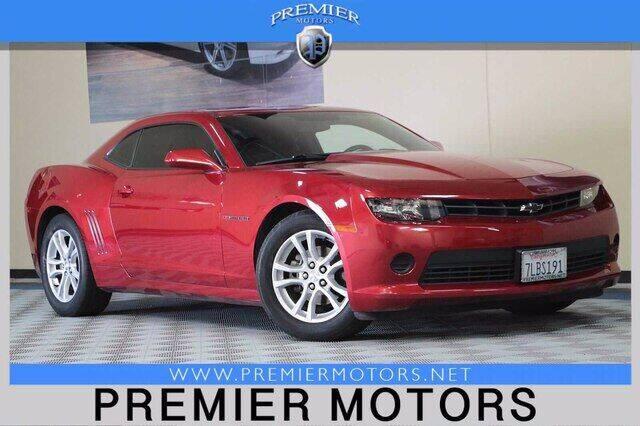 2015 Chevrolet Camaro for sale at Premier Motors in Hayward CA