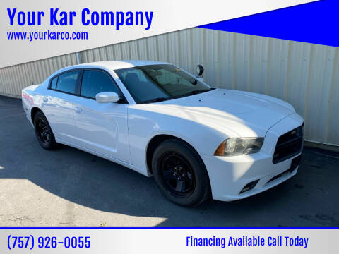 2014 Dodge Charger for sale at Your Kar Company in Norfolk VA