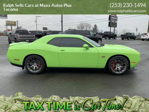 2015 Dodge Challenger for sale at Ralph Sells Cars at Maxx Autos Plus Tacoma in Tacoma WA