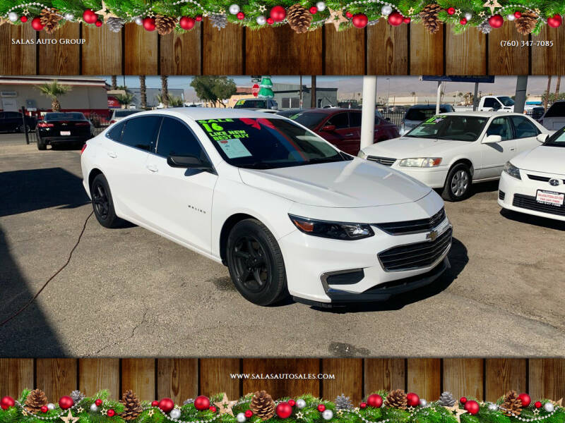 2016 Chevrolet Malibu for sale at Salas Auto Group in Indio CA