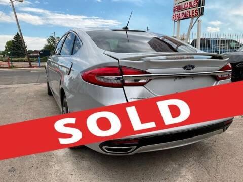 2017 Ford Fusion for sale at ELITE MOTOR CARS OF MIAMI in Miami FL