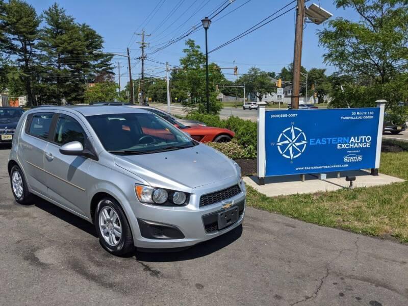 2012 Chevrolet Sonic for sale in Yardville, NJ