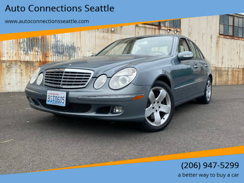2006 Mercedes-Benz E-Class for sale at Auto Connections Seattle in Seattle WA