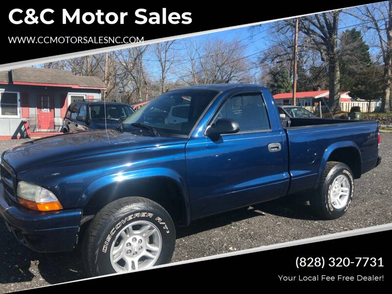 2001 Dodge Dakota for sale at C&C Motor Sales LLC in Hudson NC