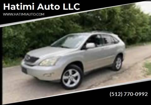 2007 Lexus RX 350 for sale at Hatimi Auto LLC in Buda TX