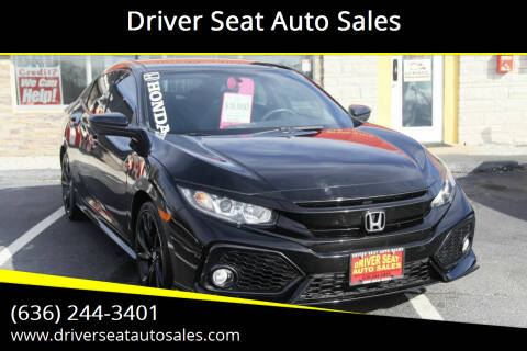 2018 Honda Civic for sale at Driver Seat Auto Sales in St. Charles MO