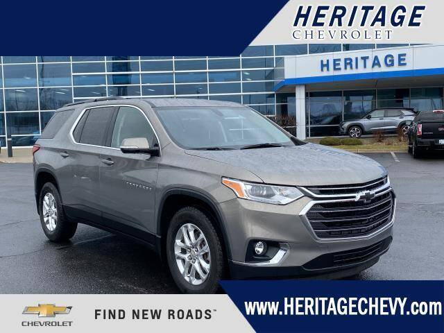 2019 Chevrolet Traverse for sale at HERITAGE CHEVROLET INC in Creek MI