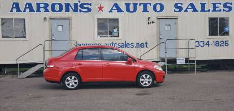 2007 Nissan Versa for sale at Aaron's Auto Sales in Corpus Christi TX