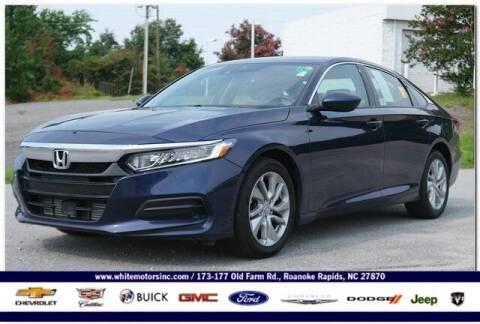 2020 Honda Accord for sale at WHITE MOTORS INC in Roanoke Rapids NC