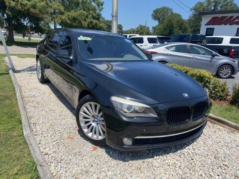 2010 BMW 7 Series for sale at Beach Auto Brokers in Norfolk VA