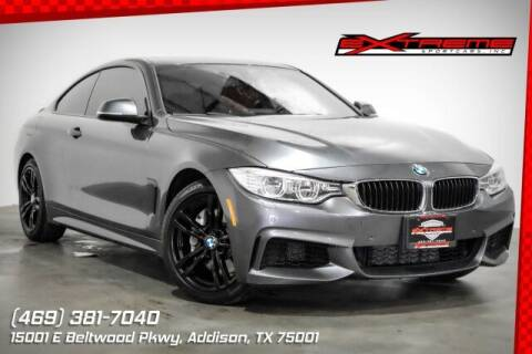 2014 BMW 4 Series for sale at EXTREME SPORTCARS INC in Carrollton TX