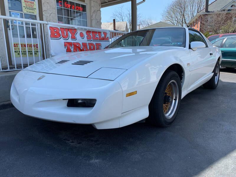 1991 Pontiac Firebird for sale at Waltz Sales LLC in Gap PA