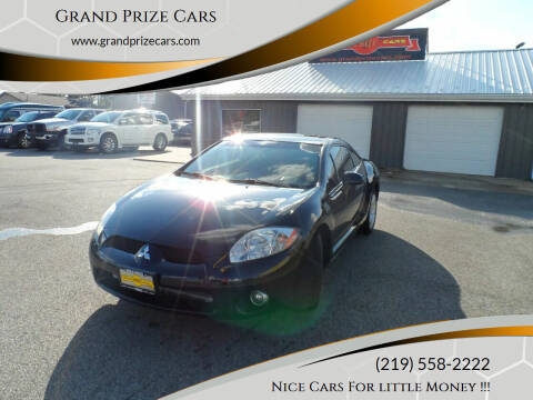 2008 Mitsubishi Eclipse for sale at Grand Prize Cars in Cedar Lake IN