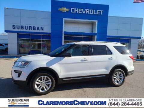 2018 Ford Explorer for sale at Suburban Chevrolet in Claremore OK
