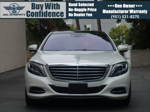 2017 Mercedes-Benz S-Class for sale at ASAL AUTOSPORTS in Corona CA