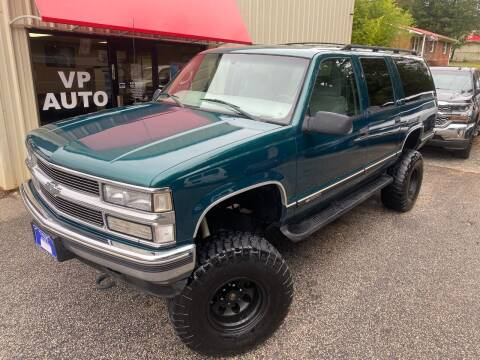 1999 Chevrolet Suburban for sale at VP Auto in Greenville SC