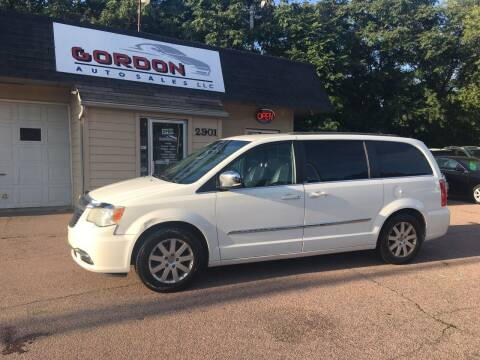 2011 Chrysler Town and Country for sale at Gordon Auto Sales LLC in Sioux City IA