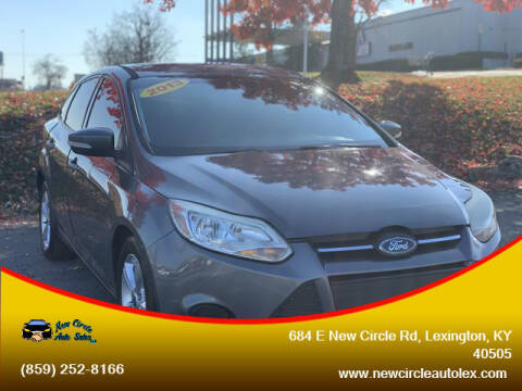 2013 Ford Focus for sale at New Circle Auto Sales LLC in Lexington KY