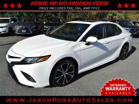 2018 Toyota Camry for sale at Jason Ross Auto Sales in Burlington NC