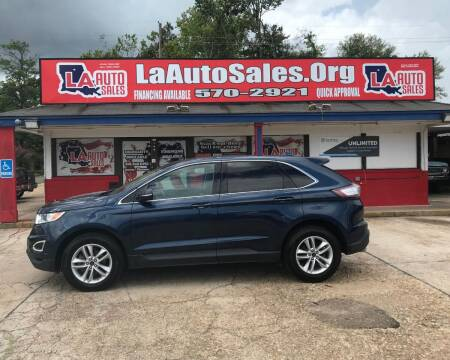 2017 Ford Edge for sale at LA Auto Sales in Monroe LA