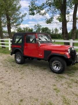 1979 Jeep CJ-7 for sale at Classic Car Deals in Cadillac MI