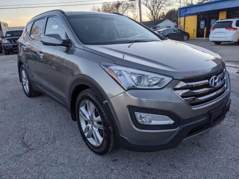 2013 Hyundai Santa Fe Sport for sale at PREMIER MOTORS OF PEARLAND in Pearland TX