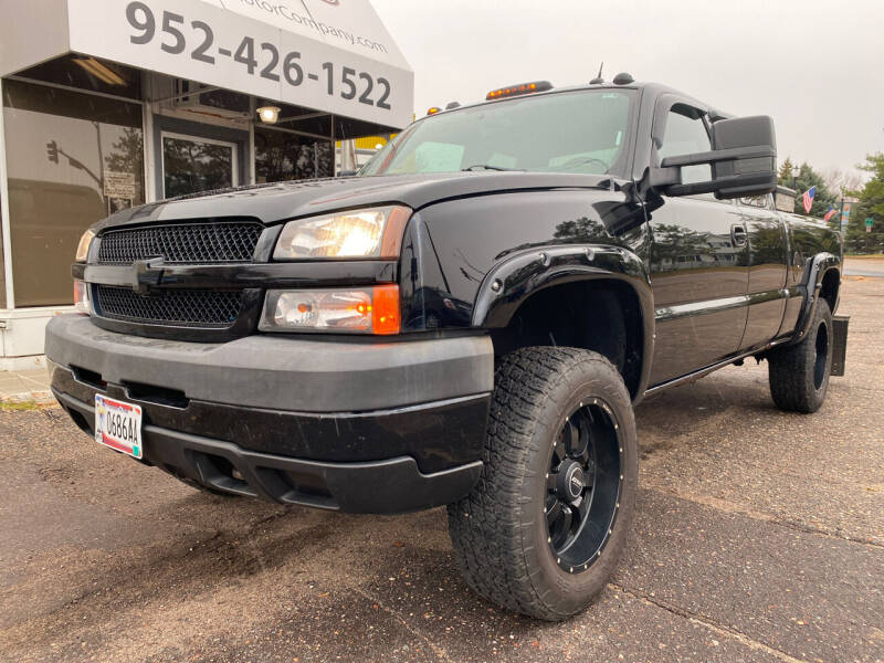 2004 Chevrolet Silverado 2500HD for sale at Mainstreet Motor Company in Hopkins MN