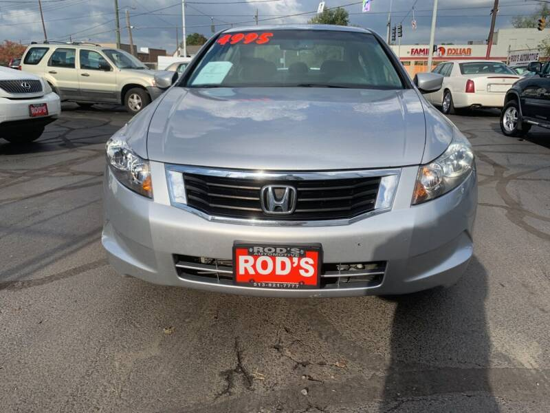 2008 Honda Accord for sale at Rod's Automotive in Cincinnati OH