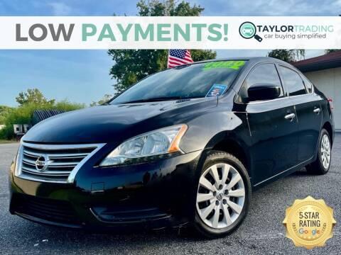 2015 Nissan Sentra for sale at Taylor Trading in Orange Park FL