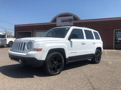 2012 Jeep Patriot for sale at Family Auto Finance OKC LLC in Oklahoma City OK