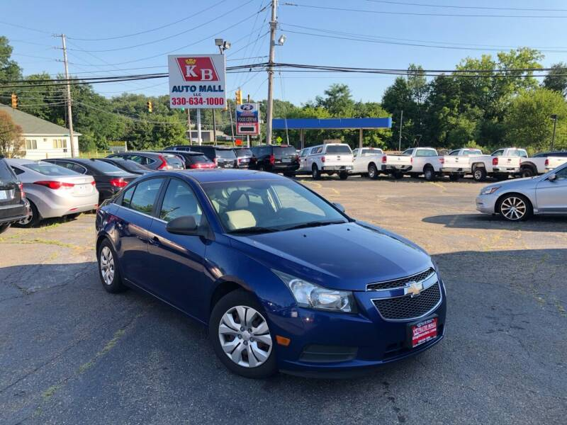 2012 Chevrolet Cruze for sale at KB Auto Mall LLC in Akron OH