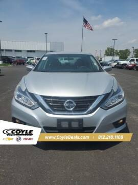 2017 Nissan Altima for sale at COYLE GM - COYLE NISSAN - New Inventory in Clarksville IN