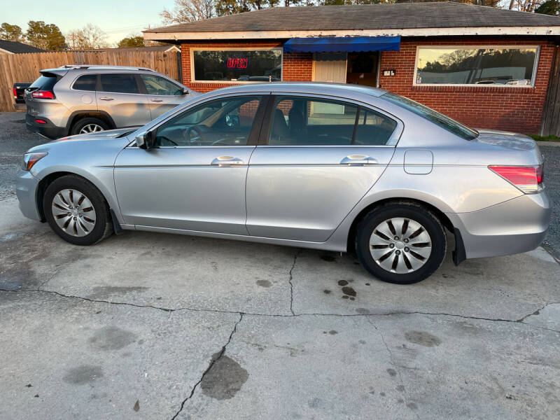 2012 Honda Accord for sale at LAURINBURG AUTO SALES in Laurinburg NC