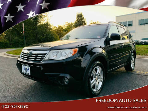 2010 Subaru Forester for sale at Freedom Auto Sales in Chantilly VA