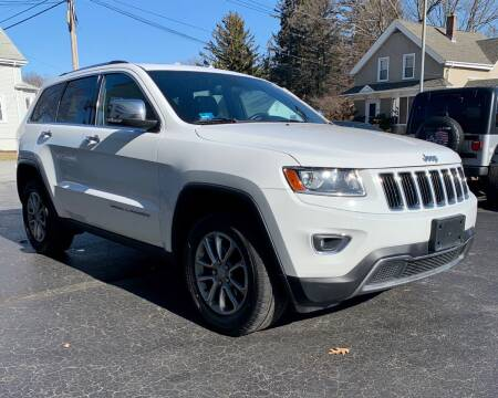 2014 Jeep Grand Cherokee for sale at FAMILY AUTO SALES, INC. in Johnston RI