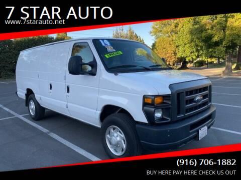 2014 Ford E-Series Cargo for sale at 7 STAR AUTO in Sacramento CA
