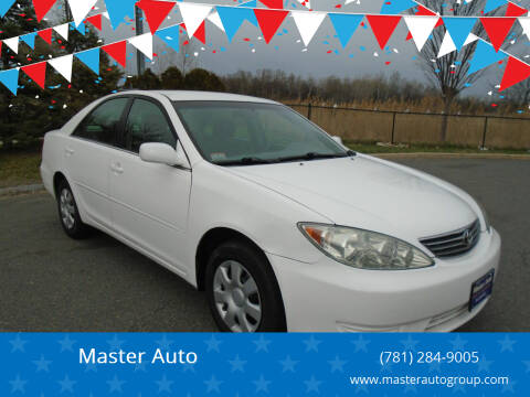 2005 Toyota Camry for sale at Master Auto in Revere MA