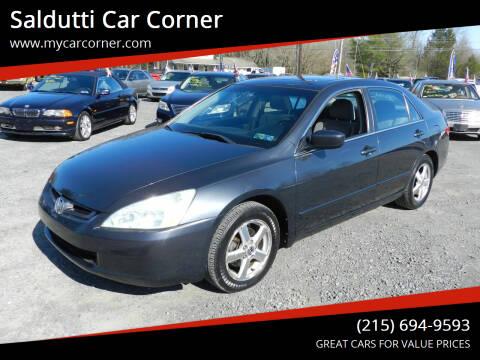 2003 Honda Accord for sale at Saldutti Car Corner in Gilbertsville PA